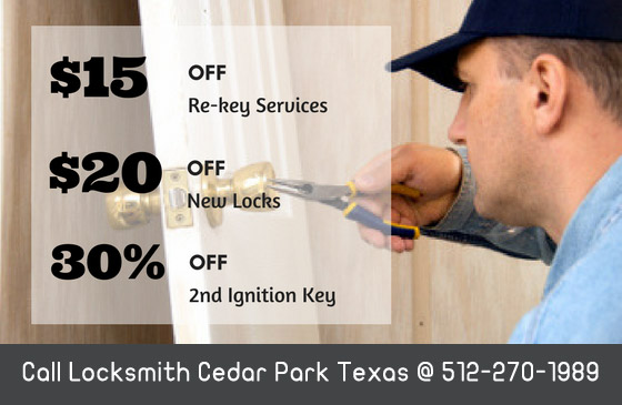 Locksmith Cedar Park Texas Coupon